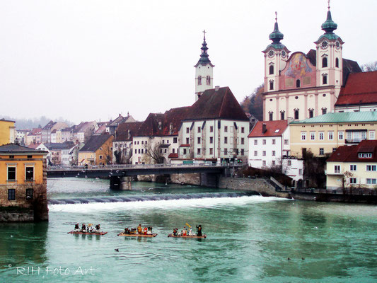 schwimmende Krippe - Steyr