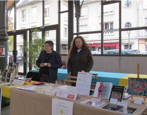 Roman livres d'artistes livre du projet coeur Salon du livre Vendôme
