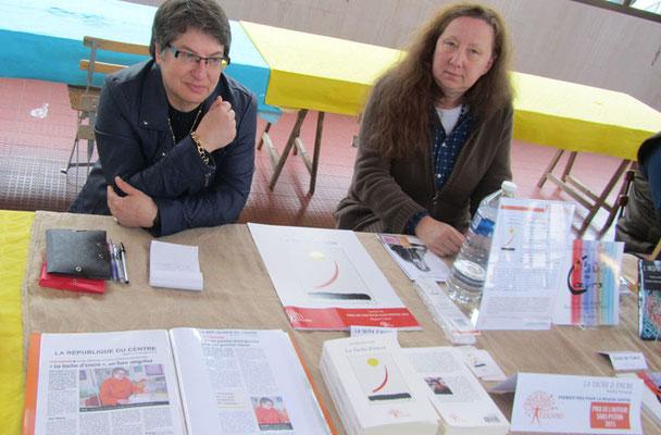 Noëlle Mirande  Isabelle Thion Salon du livre Vendôme