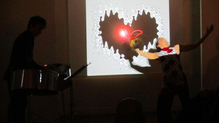 spectacle autour du coeur 2 Christophe Brégaint et Sylvie Drussy