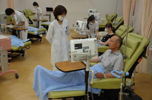 大腸癌に対する外来抗がん剤治療