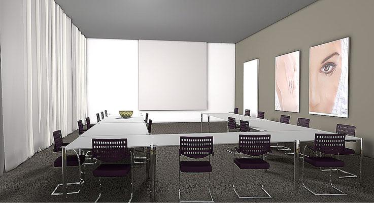 Umbau Leo Pharma Sitzungszimmer