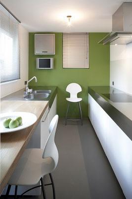 8-Zimmer-Villa Küsnacht Küche