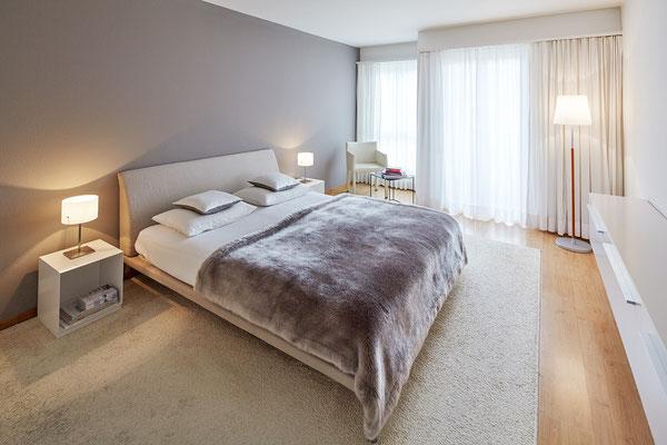 Schlafzimmer 5,5-Zimmer-Wohnung Höngg