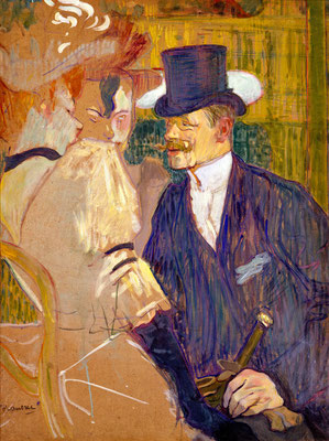 The Englishman (William Tom Warrener, 1861–1934) at the Moulin