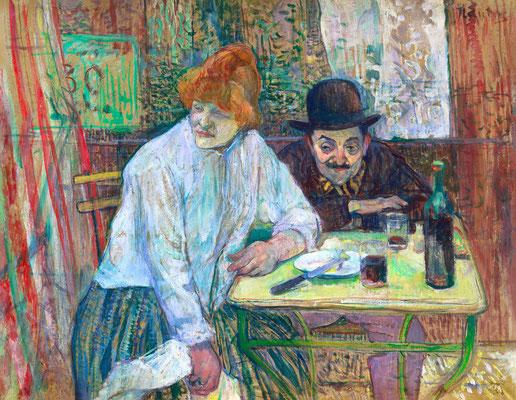 At the Café La Mie