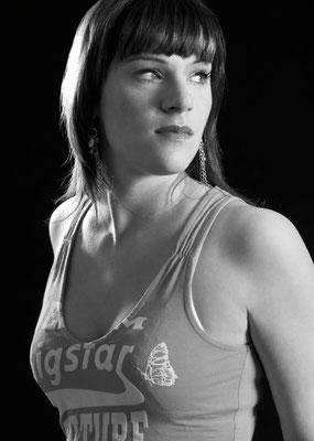 portrait in schwarz-weiß