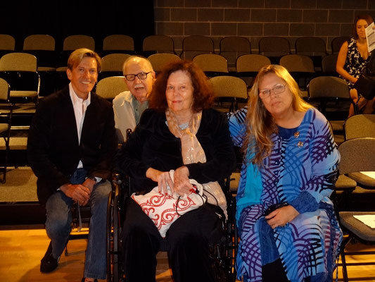 William Fowkes, Jerome Coopersmith, Rachael Bail (founder of the McLean Drama Company), Cynthia Morrison