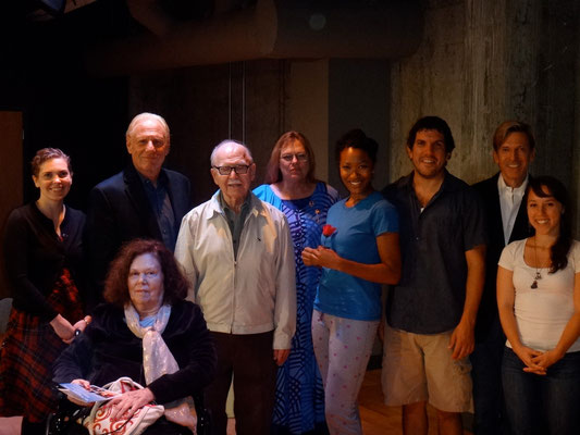 "Elizabeth Dutton (actress), Rachael Bail, Ed Klein (actor), Jerome Coopersmith, Cynthia Morrison, Tracey Farrar (Janine in ""The Brazilian Dilemma""), Theo Hadjimichael (Mark in ""The Brazilian Dilemma""), William Fowkes, Renana Fox (director)"