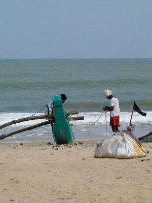 Fischer an der Ostküste