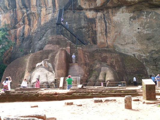 Eingang zu Sigiriya