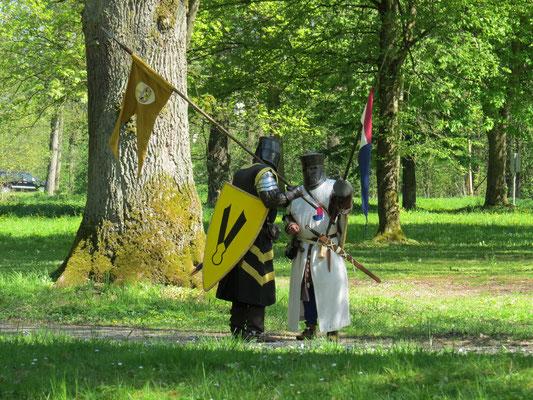 Bis die Ritter von Schaumburg kamen.