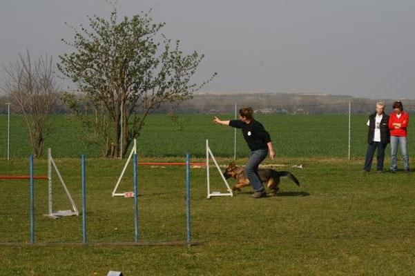 Birgit Idlhammer mit Genevra
