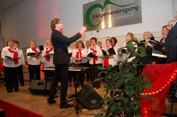 AGV Volkschor Dudenhofen unter der Leitung von Rochus Paul