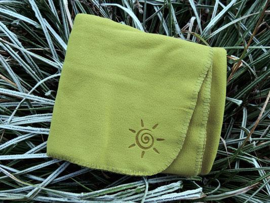 Original Flauschy Decke aus antipilling Fleece in schwerer Qualität