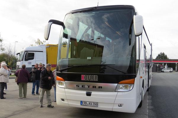 Der moderne Reisebus von Kofler
