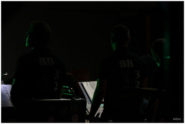 Lumières de concert, le Big Band 32