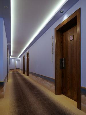 Hotel Goldener Berg Lech, Axminster Teppich (c) cp architektur