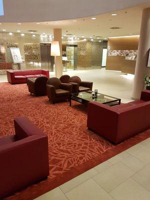 Hotel Savoyen, Handtuft Teppich
