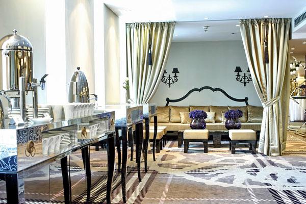 Falkensteiner Hotel Belgrade, Chromojet Teppich