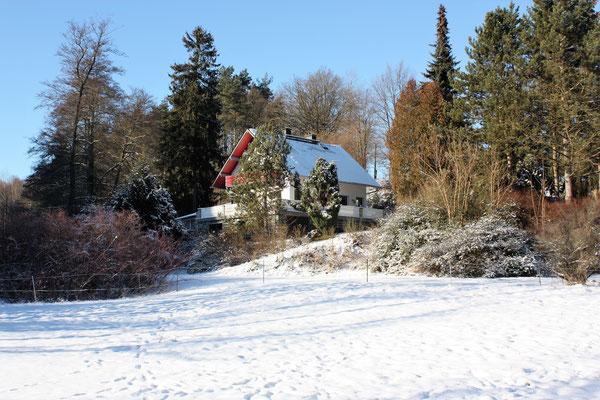 Milos Waldhaus - eine idylischer Ort für Ihre Weihnachtsfeier