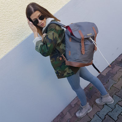 Margelisch Canvas Rucksack Andor- swiss design