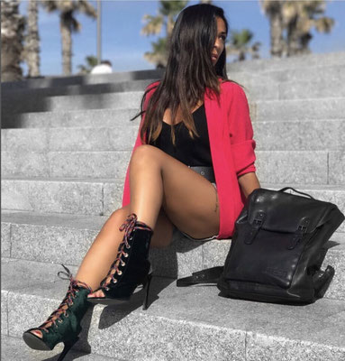 Margelisch leather backpack Almo in Rome