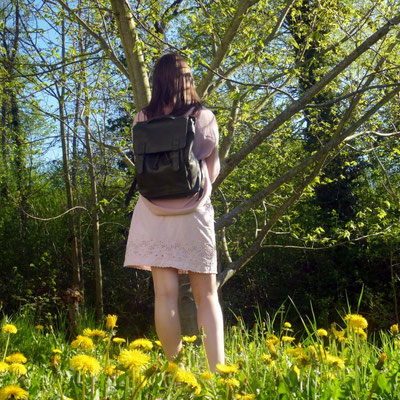 Margelisch ecoleather backpack