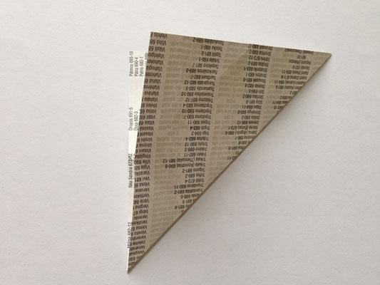 Diagonale falten