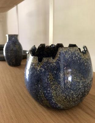 Les céramiques d'Elisabeth Rovedo au Hameau des Baux