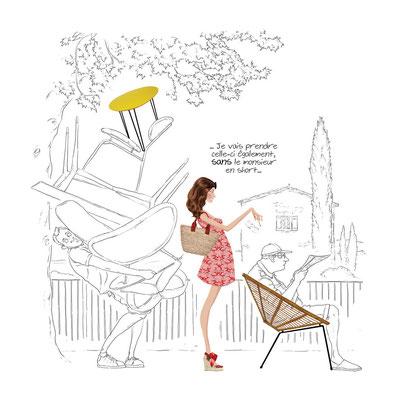 Un été au Hameau des Baux, par Fabienne Legrand