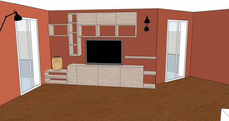 Plan 3D de la bibliothèque