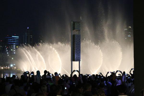 Dubai Wasserspiel