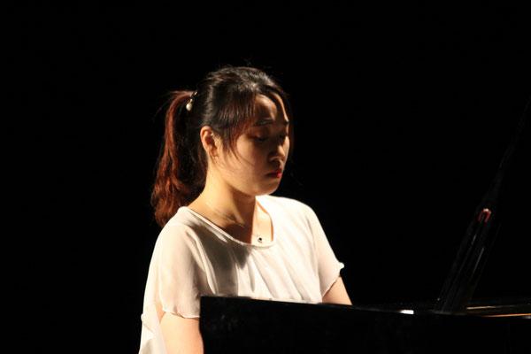 Konzert in Saal Zeit.Areal Lahr Ji Soo Shin