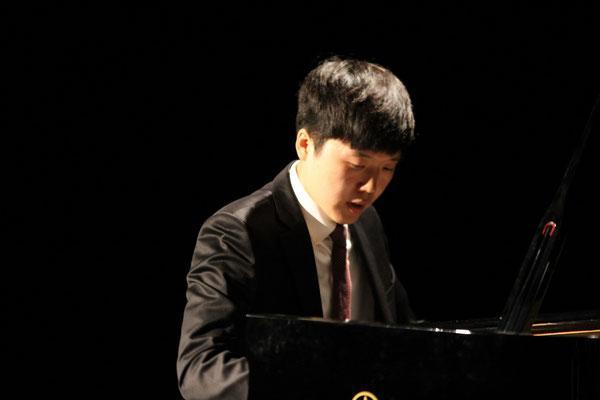 Konzert in Saal Zeit.Areal Lahr Sang Kyung Kim