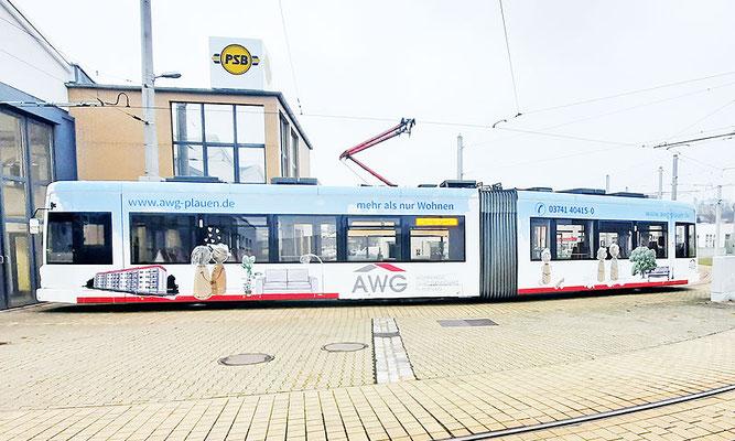 AWG Straßenbahn – Plauen