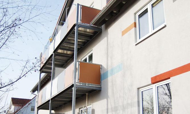 Fassade – Balkonseite