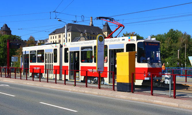 Straßenbahn KT4D – Plauen