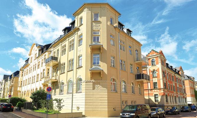 Gluckstraße 16 – Fassade