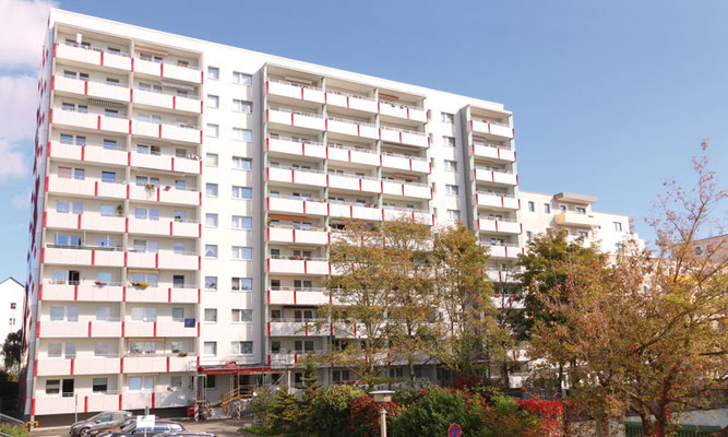 Tischendorfstraße 19/21 – Der Wohnblock nach der Sanierung