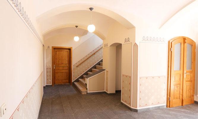 Gestaltung Treppenhaus – Plauen