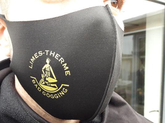Schutzmaske aus EIS-Seide