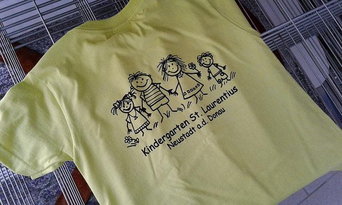 Preiswerte Kinder-Shirts mit Druck.
