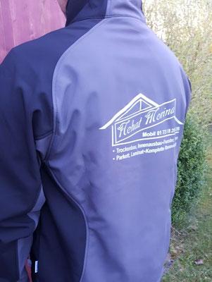 Softshell Jacke - Siebdruck