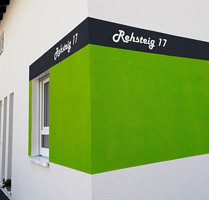 Schablonen für Fassaden