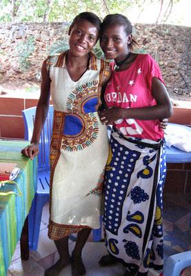Rukia und Clarisse aus Msumarini/Kenya