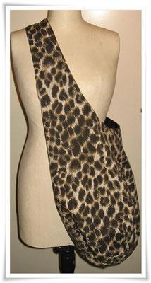 Umhängetasche Leopard