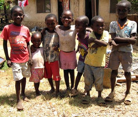 Unsere Kinder in Msumarini/Kenya