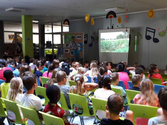 Msumarini Tage in der Hans-Thoma Schule