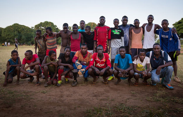 Unser Senioren-Fussballteam